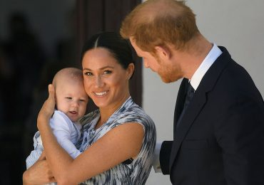 Archie Harrison, Meghan y Harry
