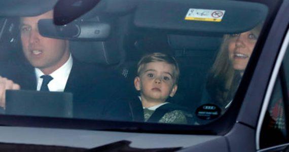 Duques de Cambridge en almuerzo navideño