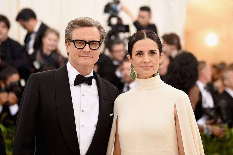 Colin Firth y Livia