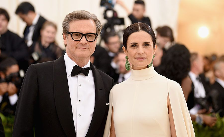 Colin Firth y Livia