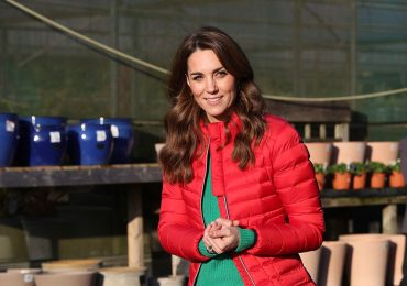 Kate Middleton con look navideño