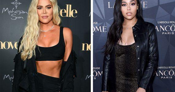 Khloé Kardashian y Jordyn Woods