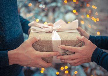 Regalos de Navidad, intercambio