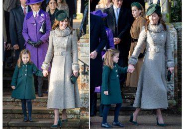 Misa de Navidad de la familia real británica