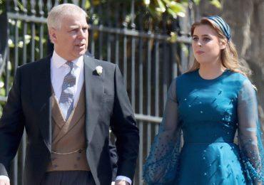 Príncipe Andrés y princesa Beatriz