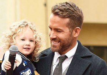Ryan Reynolds y su hija James