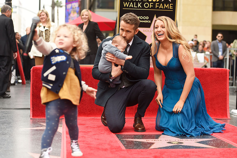 Ryan Reynolds y su familia