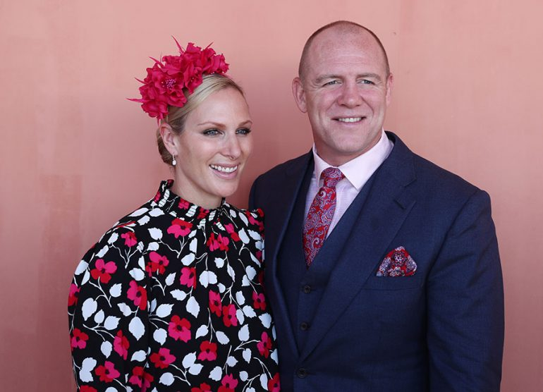 Zara y Mike Tindall