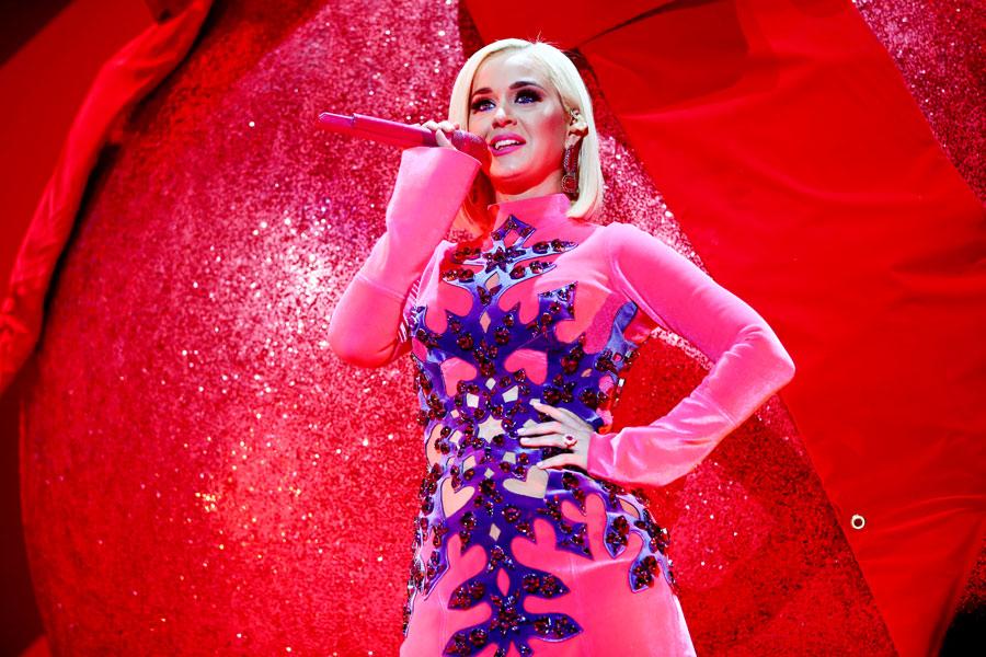 Katy Perry y sus antojos durante el embarzo