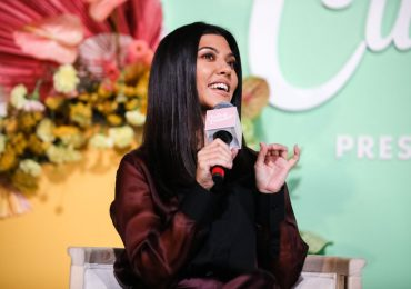 Kourtney Kardashian defiende su figura con unos kilos de más