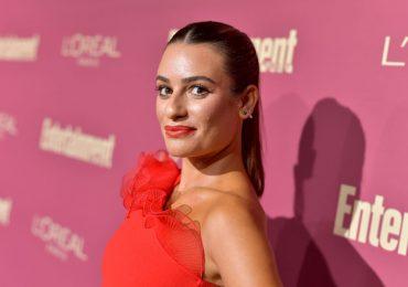 Lea Michele se disculpa por su comportamiento en el set de rodaje de 'Glee'