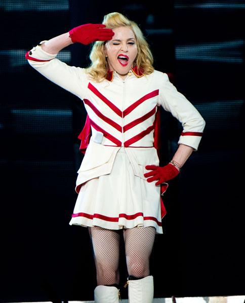 Madonna tiene predilección por hombres jóvenes