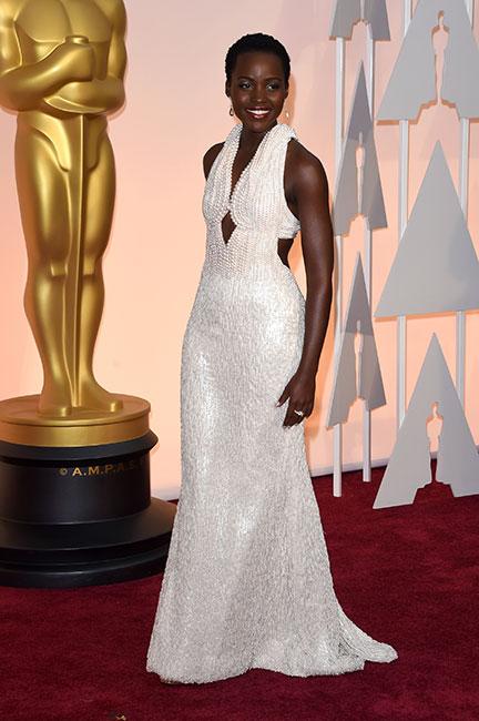 Lupita Nyong'o en el Oscar 2015
