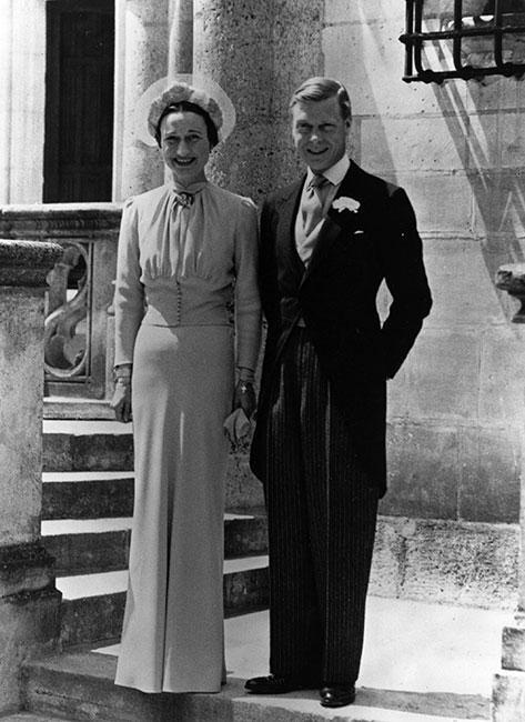 Wallis Simpson y rey Eduardo VIII