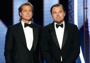 Los galanes de los Golden Globes - Brad Pitt y Leonardo DiCaprio