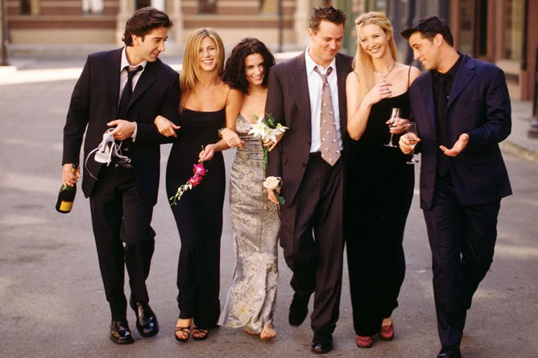 Courteney Cox cuarentena Friends