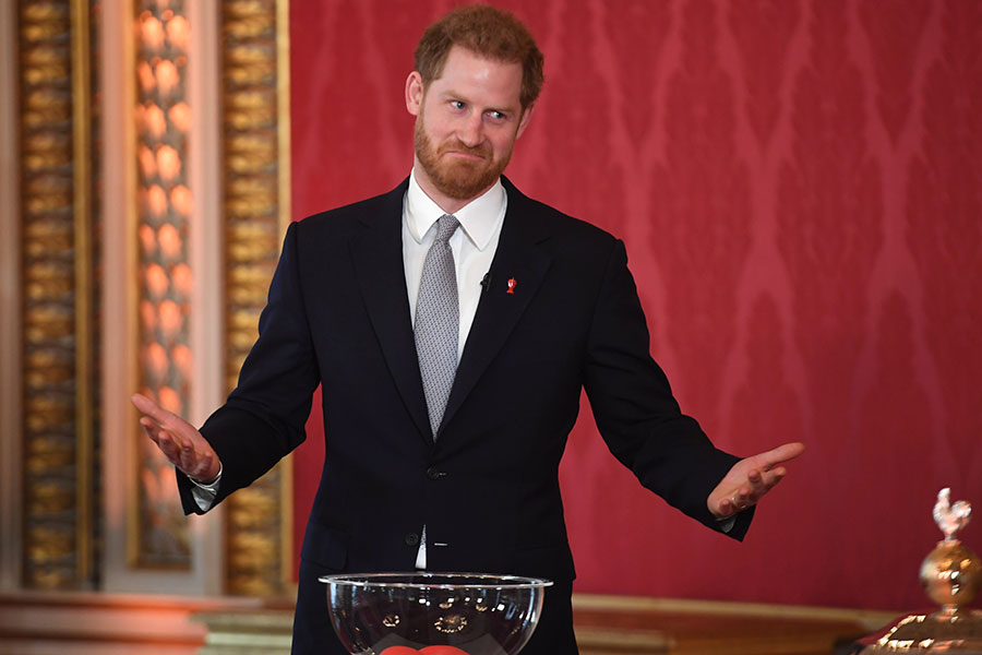 impostores rusos príncipe Harry