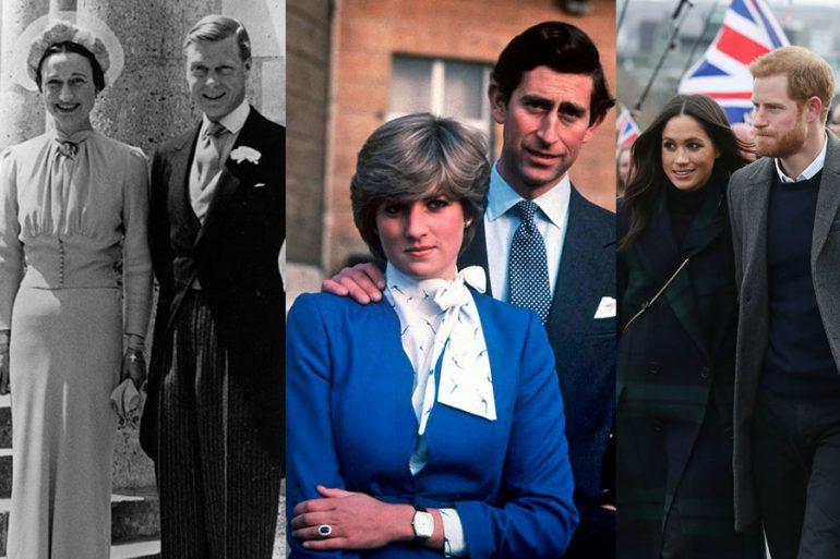 Los escándalos de la familia real británica