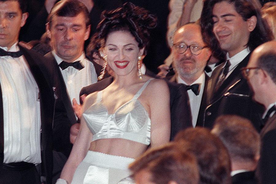 Madonna con bustier de Jean Paul Gaultier