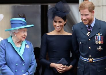 Reina Isabel, Meghan y Harry