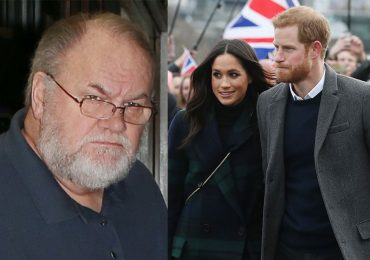 Thomas Markle y los duques de Sussex