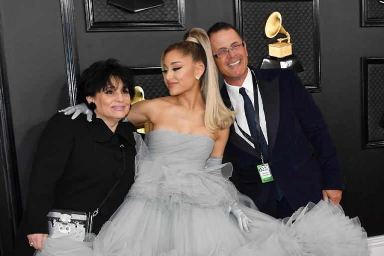 Ariana Grande y su padre