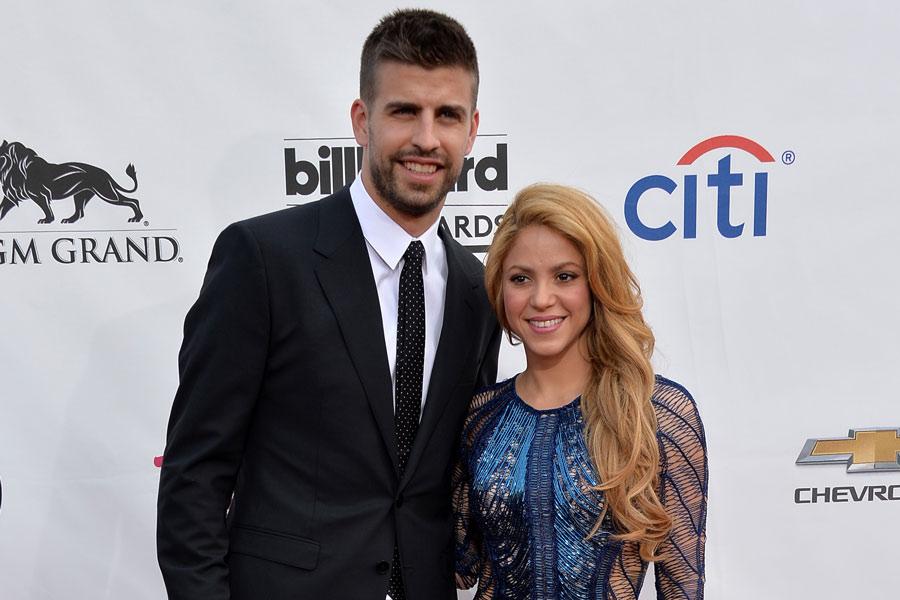 Shakira y Gerard Piqué. Ella es mayor 10 años