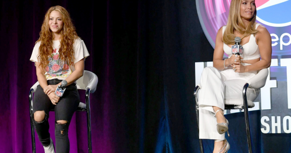 Shakira y J.Lo Super Bowl