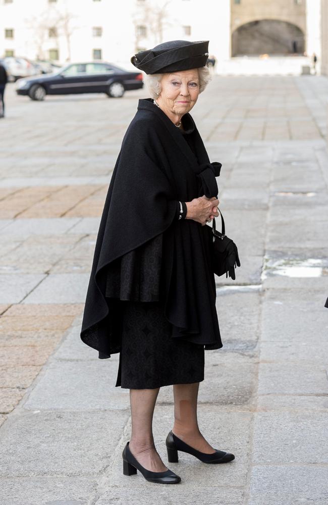 Funeral Pilar de Borbón