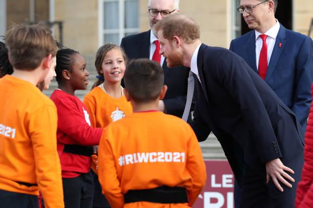 Príncipe Harry y Copa del Mundo de Rugby