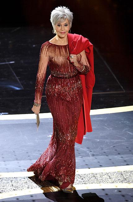 Jane Fonda en el Oscar