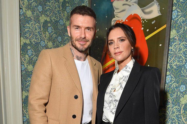 David y Victoria Beckhamcumplen 21 años de casados