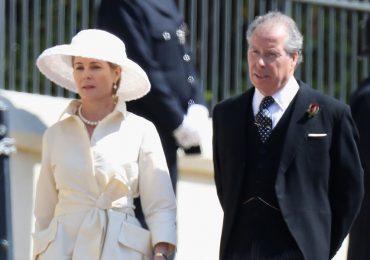 Serena y David Armstrong-Jones, conde de Snowdon