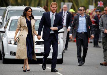 Seguridad de Harry y Meghan