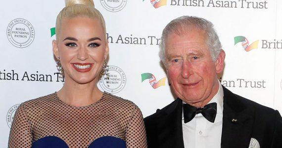 Katy Perry y príncipe Carlos