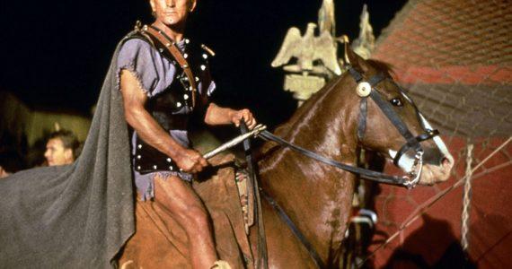 Kirk Douglas en Spartacus