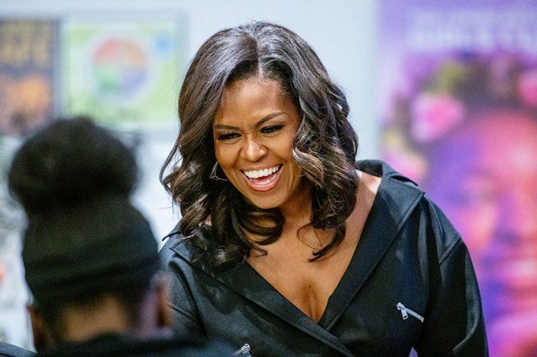 Este es el collar de Michelle Obama del que todo el mundo habla