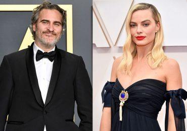 Joaquin Phoenix y Margot Robbie en el Oscar