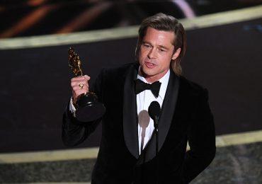 Brad Pitt en el Oscar