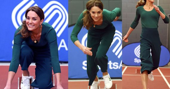 Kate Middleton en SportsAid
