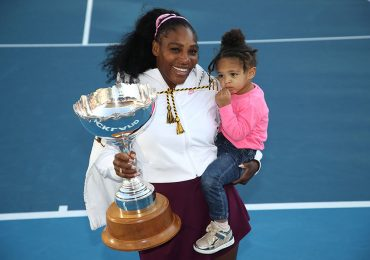 Serena Williams y Alexis Olympia