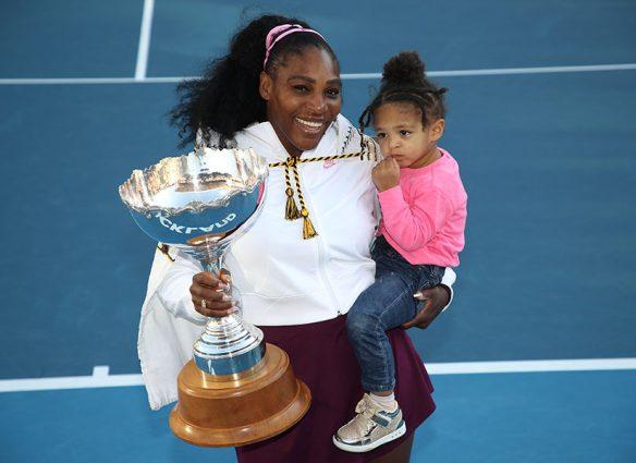Serena Williams y Alexis Olympia