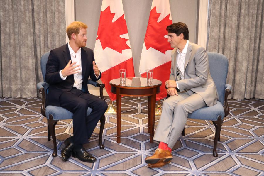 Canadá seguridad Harry Meghan