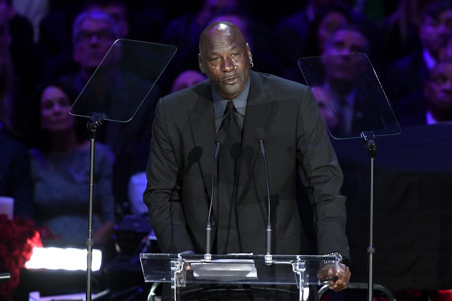 Michael Jordan emorial Kobe Bryant