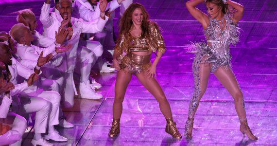 Lady Gaga Shakira J.Lo