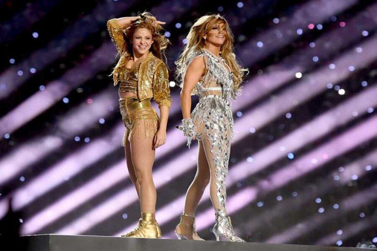 J.Lo y Shakira en el Super Bowl
