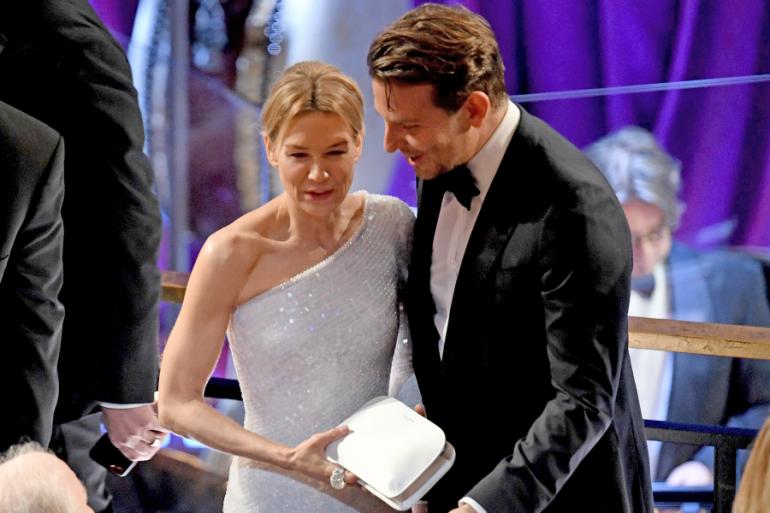 Renée Zellweger y Bradley Cooper