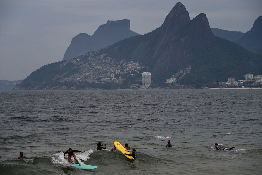 Playa en Rio