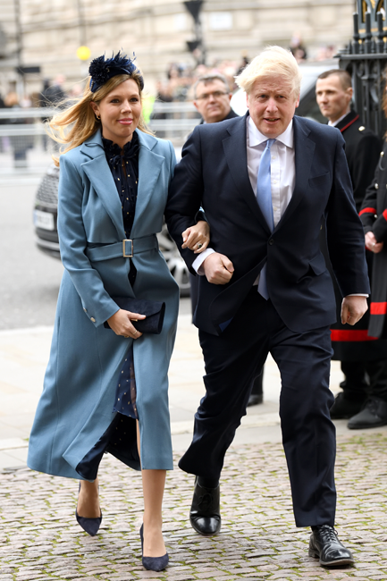 Carrie Symonds anillo Kate