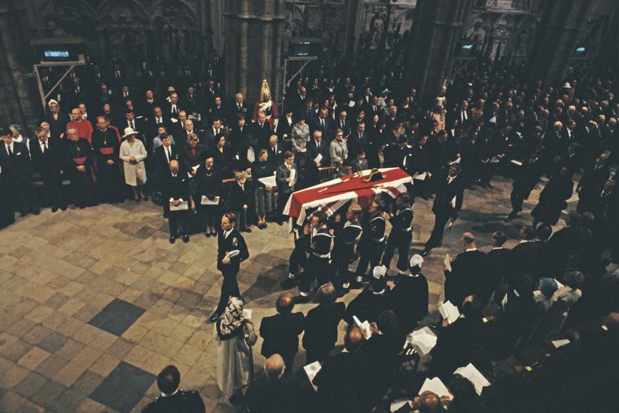 Funeral Louis Mountbatten